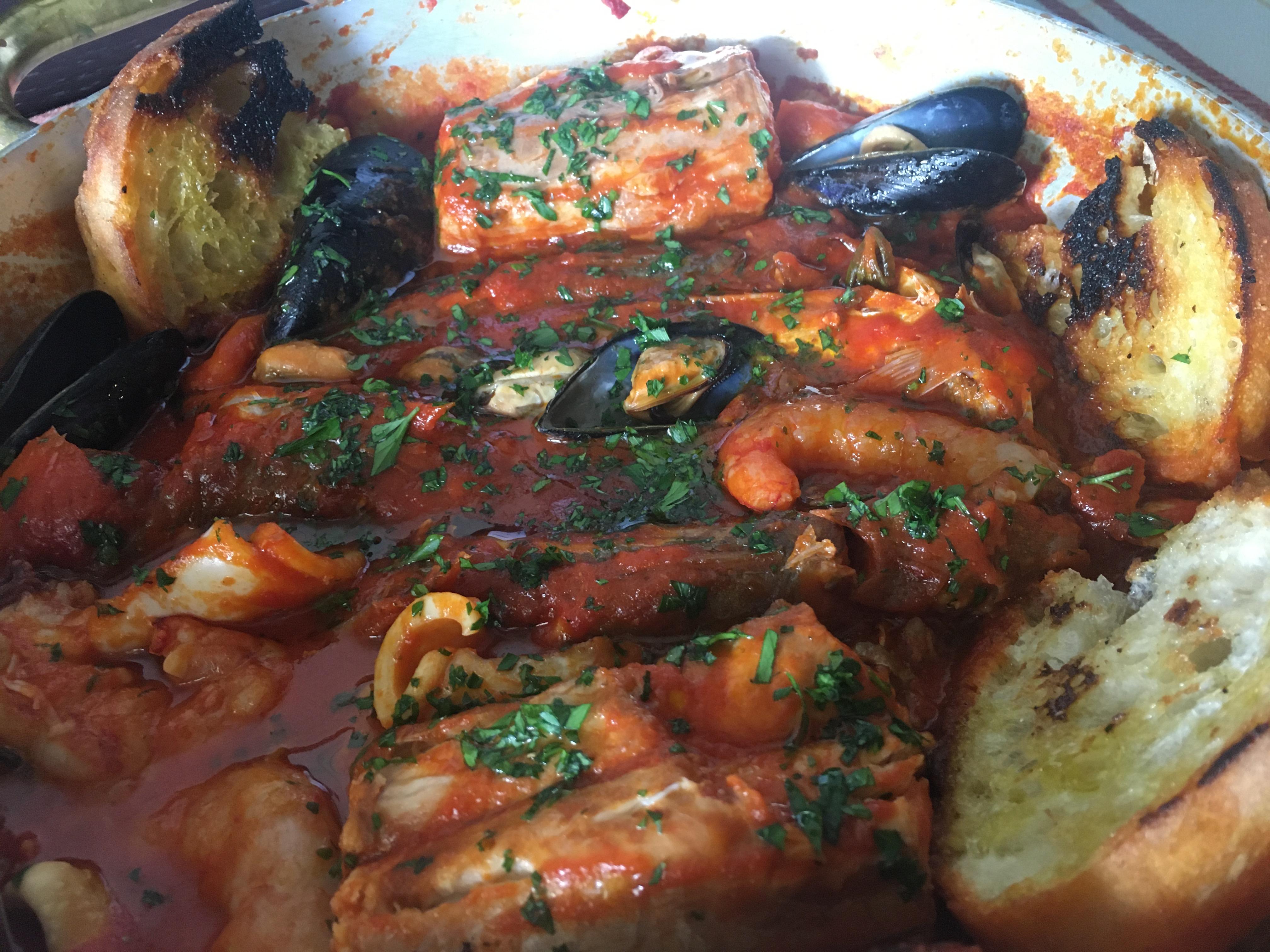 zuppa di pesce povero