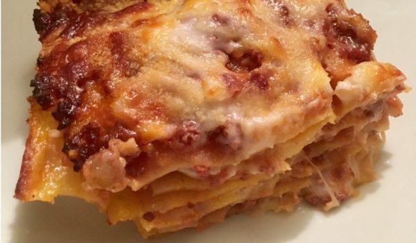 La lasagna alla bolognese